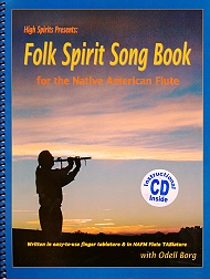 Buch 'Folk Spirit Song Book' - Copyright STEINKLANG