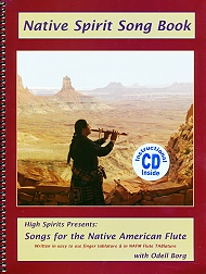 Buch 'Native Spirit Song Book 1 - Copyright STEINKLANG