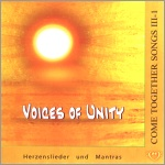 CD:  Voices of Unity - Come Together Songs 3.Buch  1.CD - Hagara Feinbier - Copyright STEINKLANG