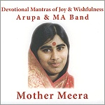 CD: Mother Meera - Arupa & Ma Band - Copyright STEINKLANG